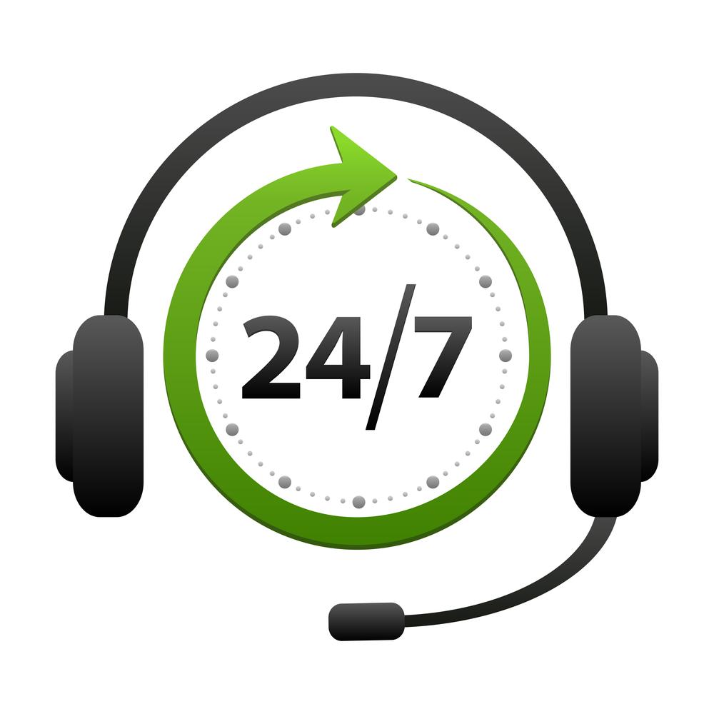 24\/7 Service